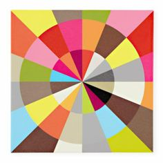 Wheel Of Color Wall Art  | Crate and Barrel