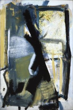 Peter Lanyon - Farm Country, 1961 Oil on canvas INIGOSCOUT.com, blankets, abstract art, craft, cabins, ski chalet, ski lodge, hamptons, retreat, freedom