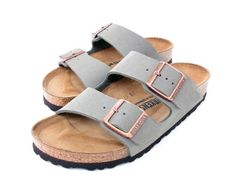 the latest 1fc00 c98d1 Pinterest kylabroad02 Instagram kyla.broad Sport Sandals, Grey Sandals,  Birks Sandals