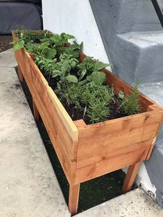 garden planters Weve always loved the idea of a raised planter box as a way to introduce our son to the responsibilities of tending a garden and enjoying the fruits of his labor (literally). Outdoor Planter Boxes, Raised Planter Boxes, Garden Planter Boxes, Outdoor Planters, Box Garden, Concrete Planters, Cheap Planters, Urn Planters, Flower Planters