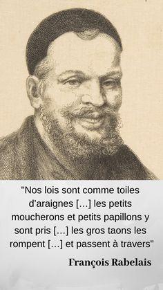 Jusqu'à la #Révolution, idée récurrente de cette inégalité devant la #loi des Français pas encore #citoyens. La France, de par la volonté de ses rois, devient pourtant « pays des lois » #histoire #histoiredeFrance #citations #citation #Renaissance #Rabelais