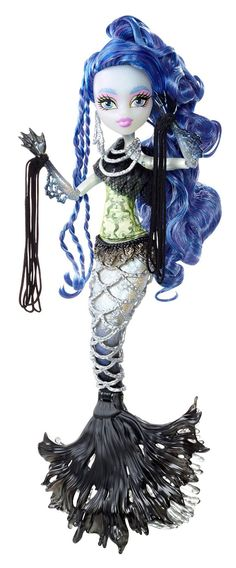 Amazon.com: Monster High Freaky Fusion Sirena von Boo Doll: Toys & Games