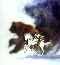 Image detail for -TWO BEARS BLACKFEET – $1380 » Bev Doolittle Prints