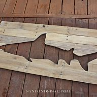 DIY Pallet Art I love creating art out of pallet & reclaimed wood! Here is just one of the pieces I recently created. We disassembl...