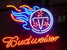"""NFL TENNESSEE TITANS BUDWEISER BEER BAR CLUB NEON LIGHT SIGN (16"""" X 14"""") - Free Shipping Worldwide  ~ Voltage: 100-240v UL Transformers from NeonPro - Workable in all countries - US, UK, Canada, Japan, Australia, European Countries, & Others.  ~ Payment: Paypal / Credit Cards / Western Union.  ~ Delivery Time: 9-15 days to USA/Canada/Japan/Australia/Asian Countries; 12-18 days to European Countries/South American Countries; via a USPS/Hongkongpost/Canadapost tracking number, directly shipped…"""