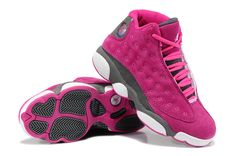 Discover the Girls Air Jordan 13 Retro Suede Pink Gray For Sale Online collection at Pumarihanna. Shop Girls Air Jordan 13 Retro Suede Pink Gray For Sale Online black, grey, blue and more. Get the tones, get the features, get the look! Jordan 13, Jordan Retro, Jordan Xiii, Jordan Store, High Top Sneakers, Best Sneakers, White Sneakers, High Heels, Sneakers Sale