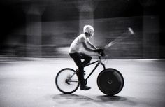 Bike Polo in Rome (Csoa Ex-Snia) by b0_r3d, via Flickr