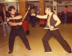 "Sayoc Kali, I was honored to be introduced to my Native Martial Art of Kali by Grand Tuhon Baltazar ""Bo"" Sayoc at a Training Seminar, he then introduced me to my 1st Sifu/Guru in Jun Fan Jeet Kune Do Concepts/Lacoste Kali Escrima: Sifu Lee Peacock."