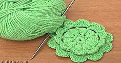Tutorial: Learn How To Crochet This Beautiful Flat Star Flower!