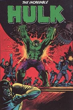 Marie Severin gives us a veritable masterpiece as the Hulk goes on the rampage. #MarieSeverin #Hulk