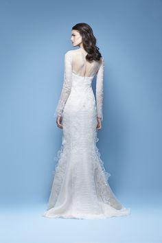 Carolina Herrera Bridal Spring 2016 'Jenette' bridal gown