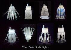 solar soda combo Solar Soda Lights in plastics packagings lights  with Repurposed