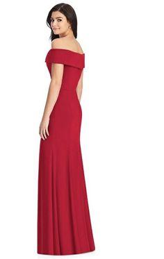 0153870d76 Off Shoulder Trumpet Skirt formal Dress Style 3030