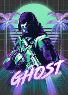 call of duty ghosts poster by from collection. By buying 1 Displate, you plant 1 tree. Call Of Duty Warfare, Gaming Profile Pictures, Call Off Duty, Call Of Duty Zombies, Gaming Posters, Game Wallpaper Iphone, Gamer Pics, Best Gaming Wallpapers, Poster Prints