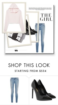 """""""Get going"""" by prplbtrfly ❤ liked on Polyvore featuring Givenchy, Yves Saint Laurent, Whiteley and Kershaw"""