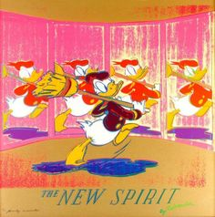 Andy Warhol (American, 1928-1987)The New Spirit (Donald Duck)1985Screenprint38 x 38 inches (96.52 x 96.52 cm)Edition of 190