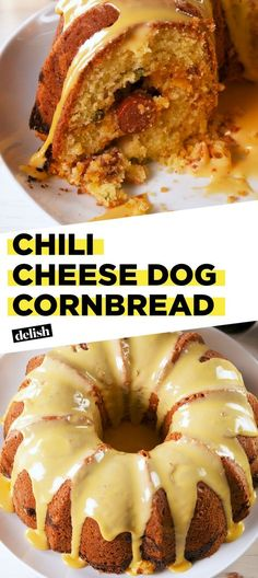 People Are Freaking Out Over This Chili Cheese Dog Cornbread Delish