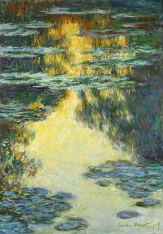 Claude MONET. Water lilies [oil on canvas], 1907.