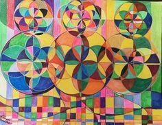 作品名:「Divine Geometry 37」 画家名:「カノウユリコ」 コメント:「somebody to loveという  曲を聴きながらうとうとしているとき  インスピレーションを  いただきました  幾何学を描き始めた初期の作品で、  かなり丁寧に大切に描いているのが  伝わってきて、見ると今でも涙が溢れます    額縁はご購入後サービスでお付けいたします。」 ART-Meter