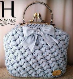 Сумочки трикотажной пряжей - Crochet Modnoe Vyazanie