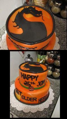 My Girlfriend Made a Mortal Kombat Birthday Cake   Cody RapolMy ...