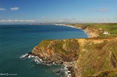 Hazephron Cliff, the Lizard, south Cornwall