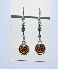 Gifts for the Eng. teach: Mockingjay Arrow  Earrings by ~englishteach on deviantART