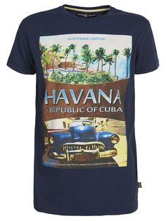 OUTFITTERS NATION Jungen T - Shirt HAVANA CUBA 24014488: Amazon.de: Bekleidung
