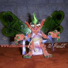 Verdiece the Fairy Miniature by ChenilleMacabre on Etsy! Buy her today!