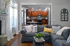 ektorp sofa grey - ektorp sofa - ektorp sofa living room - ektorp sofa beige - ektorp sofa cover - ektorp sofa grey - ektorp sofa hack - ektorp sofa with chaise - ektorp sofa white Ikea Living Room, Living Room Sectional, Living Room White, Living Rooms, Ektorp Sectional, Ikea Bank, Ikea Couch, Classic Living Room, Living Room Designs