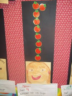 Mrs. Wood's Kindergarten Class: 10 Apples Up On Top