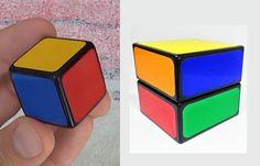 Cubos de Rubik de nivel básico: 1×1 y 2×1