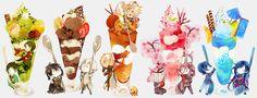 埋め込み画像への固定リンク Kawaii Anime, Chibi Food, Kagerou Project, Cute Chibi, No Name, I Love Anime, Touken Ranbu, Vocaloid, Animation