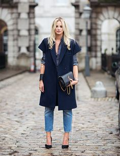 I really like the coat by Carin Wester