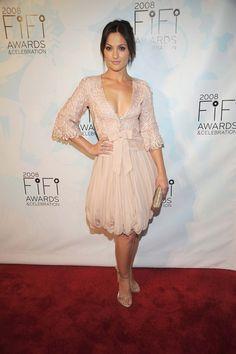 Minka Kelly Celebrity Crush, Celebrity Style, Minka Kelly, Beige Dresses, Future Wife, Celebs, Celebrities, Siblings, Haute Couture