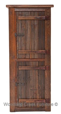 Web Image Gallery Rustic Linen Cabinet by Woodland Creek Furniture Available Any Size Needed Matching vanity cabinetry