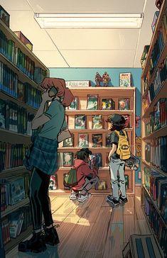 Art Drawings Sketches, Cool Drawings, Pretty Art, Cute Art, Arte Sketchbook, Art Anime, Wow Art, Cartoon Art Styles, Art Graphique