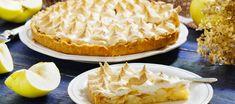Tarte meringuée aux pommes et aux poires, une belle tarte d'automne délicieuse.