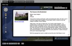 Free Technology for Teachers: Pin-a-Tale - A Map of British Literature