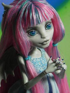 *Murrina* - OOAK Monster High Rochelle Goyle Doll Repaint By Nesladkaya_N