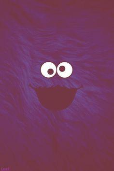 Cookie Monster iphone wallpaper