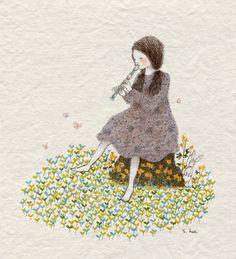 """초록담쟁이 (Green Ivy), """"새싹들에게 노래를"""" (""""Sprouts with a Song"""")"""