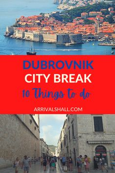 Discover 10 things to do on a Dubrovnik city break plus read about some useful travel tips for the destination. #travel #europe #europetravel #croatia #traveltips Croatia Itinerary, Croatia Travel Guide, Europe Travel Guide, Travel Guides, Europe Beaches, Stuff To Do, Things To Do, City Break, Dubrovnik