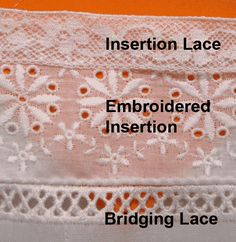 Heirloom Sewing - Making Your Own Fabric with Ribbon and Lace