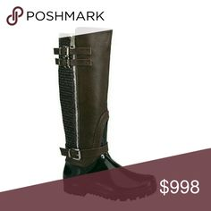 "THEY'RE BACK! ⛾HP⛾ Espresso Riding Rain Boot Rainy season is coming, don't get left out in the rain without these amazing rain boots with the stylish look of a riding boot, perfect for outdoor work or play!!!  ⚬Water proof rain boot  ⚬Dark coffee brown ⚬Textured chap look ⚬Buckled lug sole ⚬Side zipper ⚬Calf Width 15"", no stretch ⚬Front Height 16"" tall ⚬Fits true to size   ***PRICE IS FIRM, NO OFFERS *** Boutique  Shoes Winter & Rain Boots"