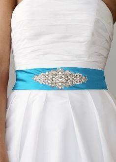 Malibu blue sash