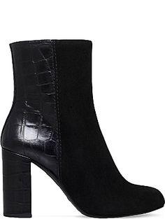 KURT GEIGER LONDON Nova suede ankle boots