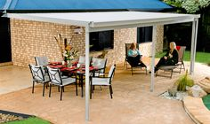 Absco Patio Cover/Awning 3m x 6m Zincalume