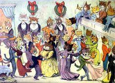 No país das entrelinhas: Louis Wain e os gatos psicóticos