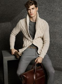 Jason Anthony for Massimo Dutti Lookbook
